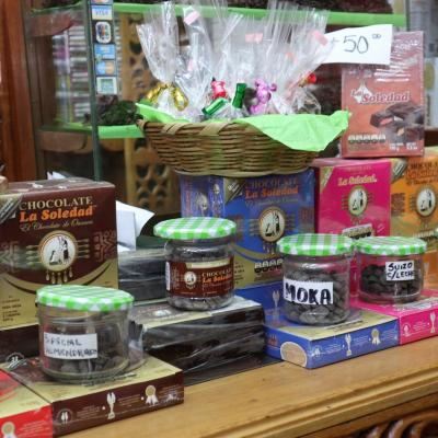 Boutique de chocolats