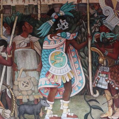 Fresque de Diego Rivera