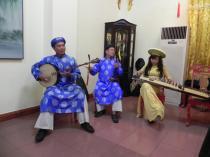 Dîner impérial  Les musiciens