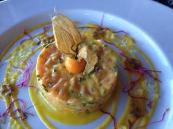 L atlantique tartare de saumon