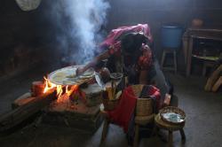 La préparation des tacos