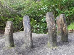 Sculpture parc de Kylemore Abbey
