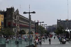 Le Zocalo Mexico
