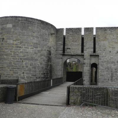 Remparts  porte Calmont Vannes