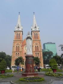 Saïgon-cathédrale Notre-Dame