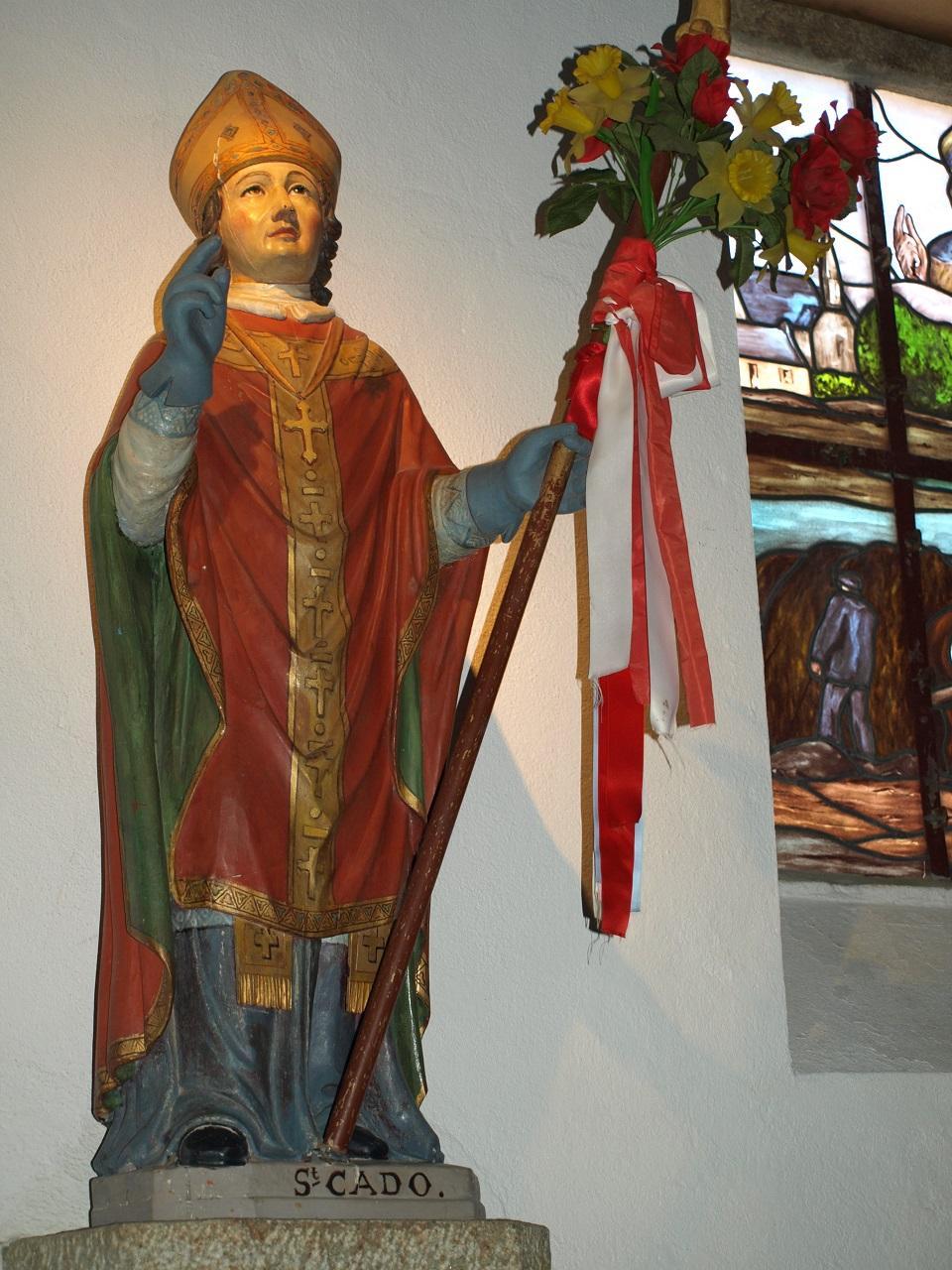 Statue de Saint-Cado