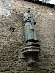 Statue de Saint-Goustan